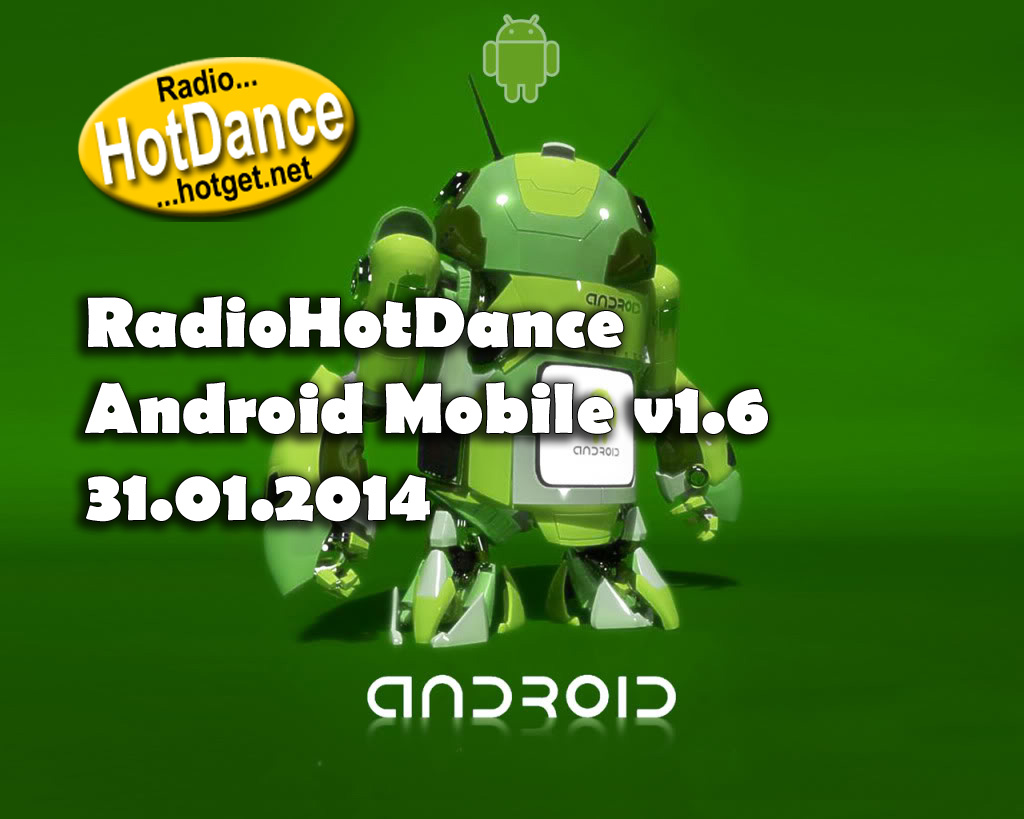 Radio Hot Dance Android Mobile v1.6