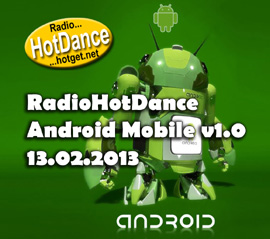 Radio Hot Dance Android Mobile v1.1