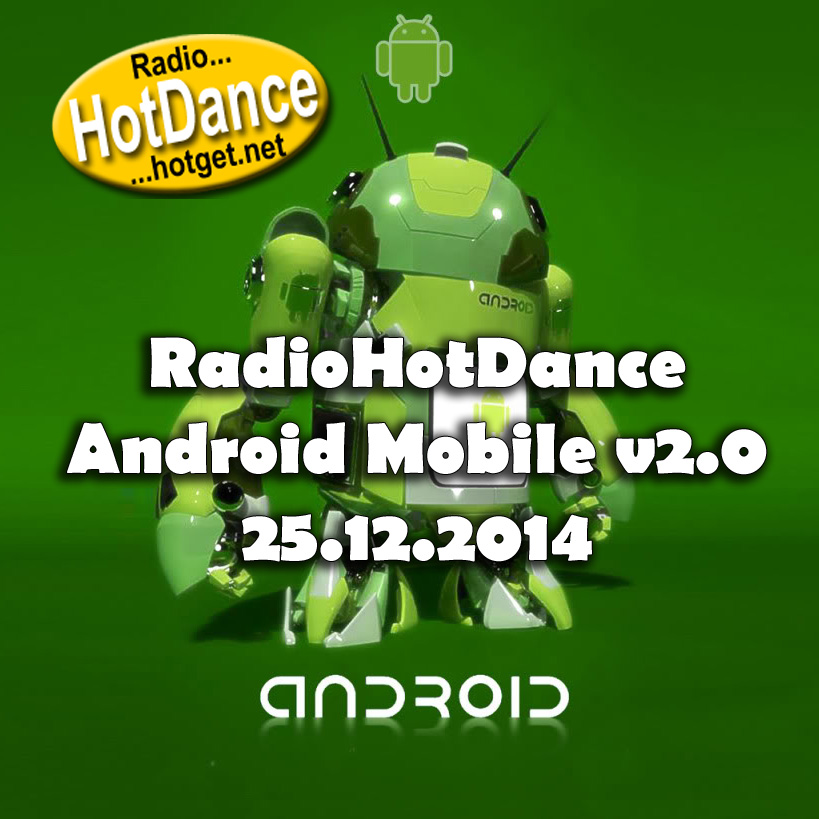 Radio Hot Dance Android Mobile v2.0