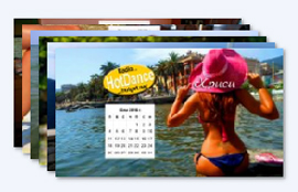 Календар с мацки за 2016
