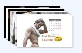 Hot Dance календар с мъже за 2013